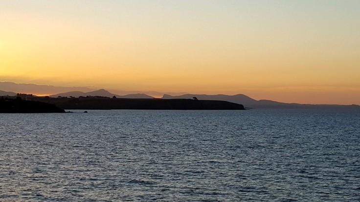 sunset-leaving